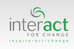 Interact for Change logo
